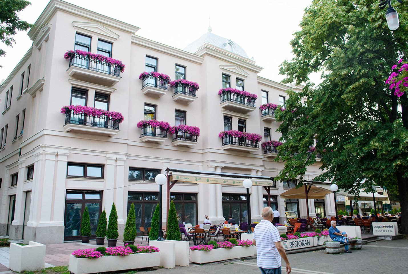 Zepter Hotel Vrnjacka Banja, eksterijer
